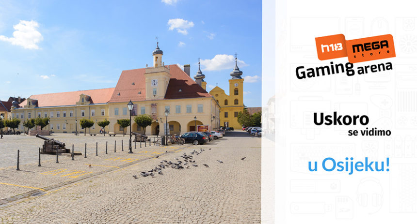 U Osijek stiže H18 Megastore Gaming Arena